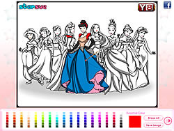 Play Disney Princess Coloring Game online for Free - POG.COM