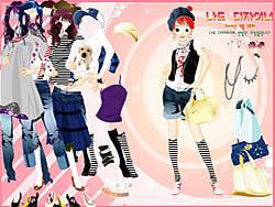 -= Dress Up Sporty Girl