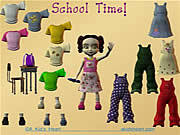 School Time Dress Up