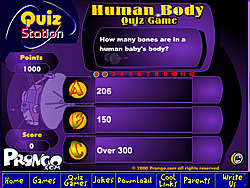The Human Body Quiz Game