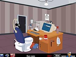 Computer Toilet Room Escape
