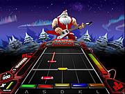 Santa Rockstar 4 Metal Xmas