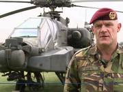 Dutch forces train with US Apaches and Black Hawks