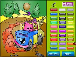 Kids Coloring Car's