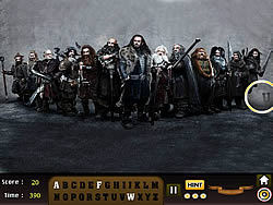 The Hobbit - Find the Alphabet
