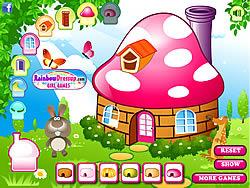 Decorate My Mushroom House
