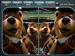 Yogi Bear Spot the Difference