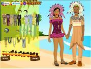 African Wedding Dressup