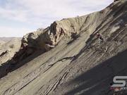 Guy Riding Mountain Bike in Slow Motion
