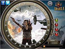 Resident Evil Retribution - Find the Alphabets