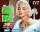 Marilyn Monroe Facial Spa Makeover