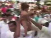 Indian Baby Dropping Ritual