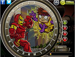 Super Hero Squad - Find the Alphabets