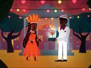 Orange Commercial: The Flower