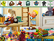 Kids Cartoon Room Hidden Object