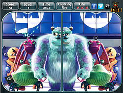 Monsters Inc - Spot the Difference
