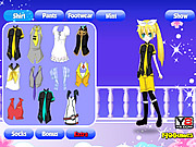 Dress Up Anime Girl