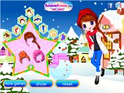 Joyful Snow Doll
