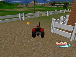 Tractor in Farm