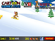 Jerry Snowboarding