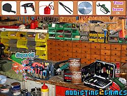 Workshop Tool Room Hidden Objects