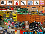 Workshop Tool Room Hidden Objects