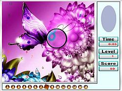 Fantastic Butterflies Hidden Numbers