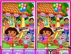 10 Differences Dora the explorer