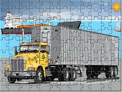 Cargo Truck Jigsaw