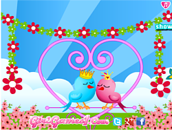 Lovebirds Decoration
