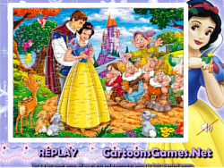 Snow White Sort My Jigsaw