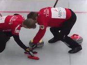 Unusual Sport Game Curling