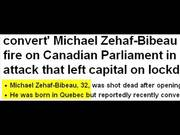 The Canada War Memorial Shooting Drill Hoax ?