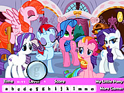 My Little Pony Hidden Letter