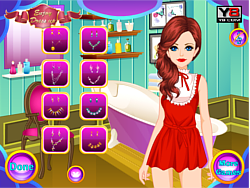 Cute Geeky Girl Makeover