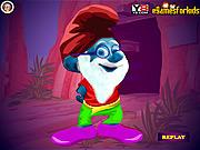 Smurf Papa Dress Up