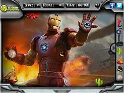 Iron Man 3 Hidden Objects