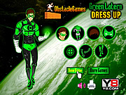 Green Lantern Dress Up