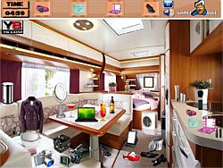 Caravan Interior Objects