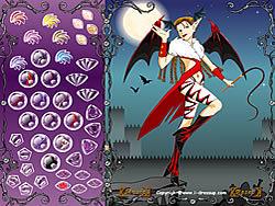 Fairy in Devil Costume