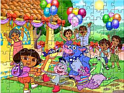 Dora Puzzle Jigsaw