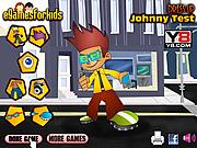 Johnny Test Dressup