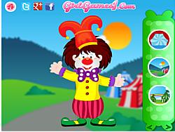Funny Clown Decorating