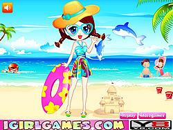 Summer Beach Dress Up