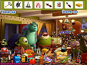 Monster University Hidden Objects