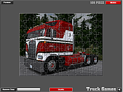 American Truck Puzzle