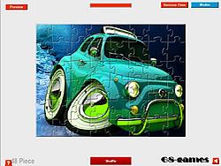 3D Car Jigsaw