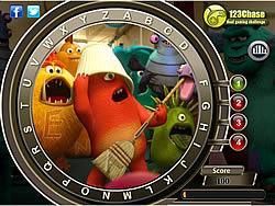 Monsters University - Hidden Alphabets