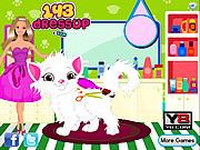 Barbie Cat Hair Salon Care