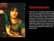 Greensleeves Instrumental